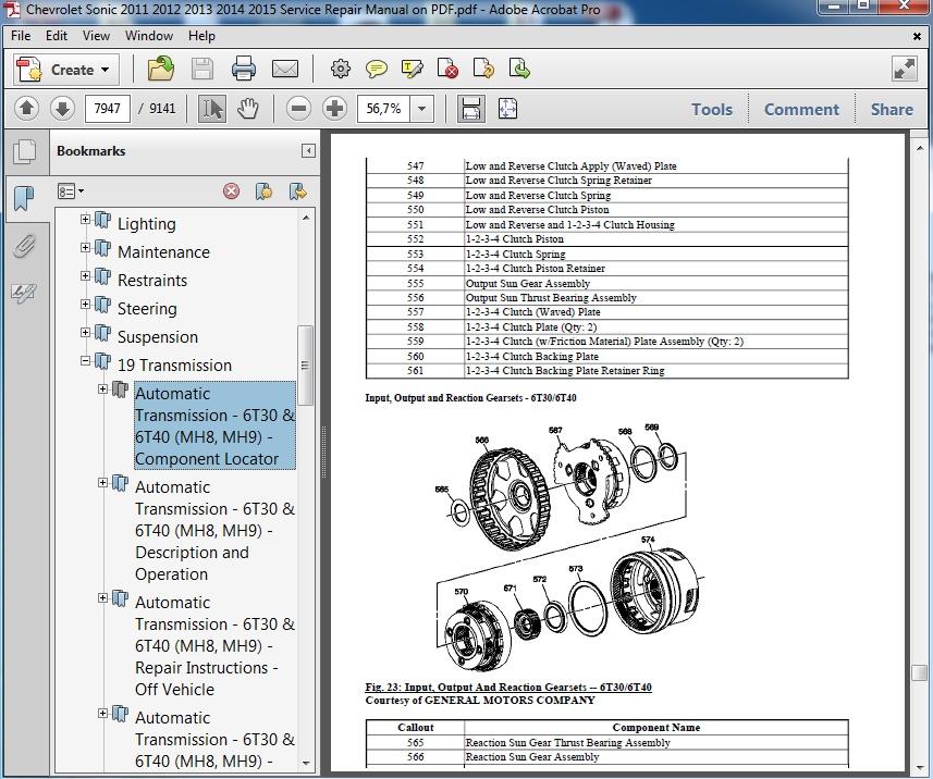 6t40 transmission repair manual pdf