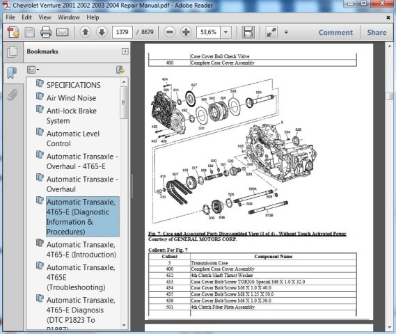 Chevrolet Venture 2001 2002 2003 2004 Repair Manualrhsellfy: 2001 Chevy Venture Repair Manual At Cicentre.net