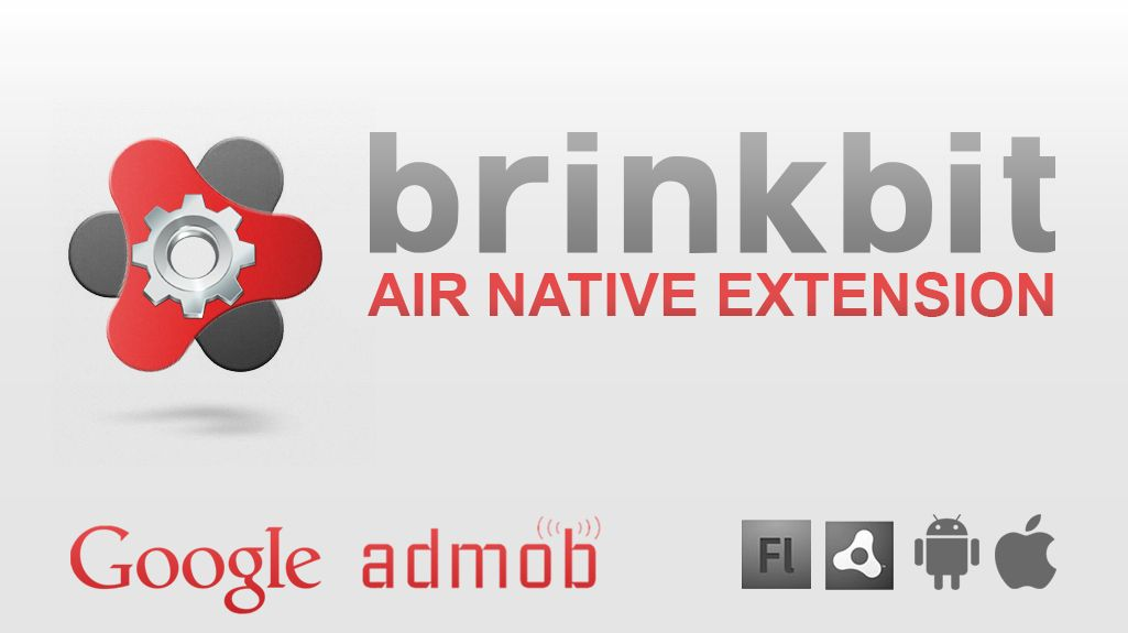 AIR NATIVE EXTENSION - AdMob ANE for Android/iOS