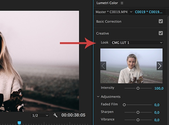 3 FILMLOOK LUTS FOR SONY Cine4 - Christian Maté Grab - LUTs