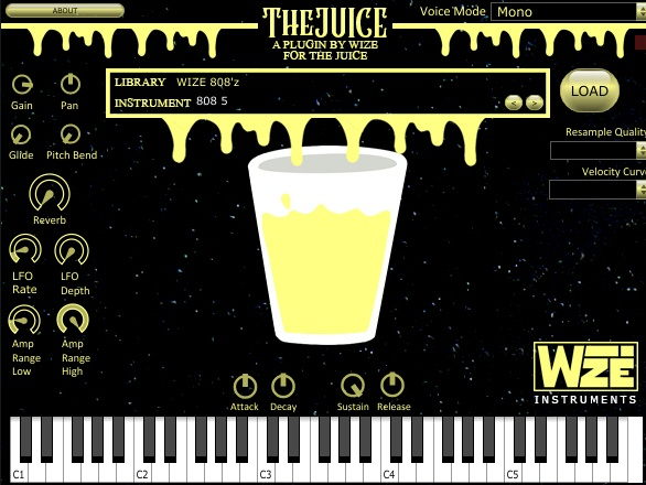 WIZE's TheJUICE VSTi v1.0 (WINDOWS)