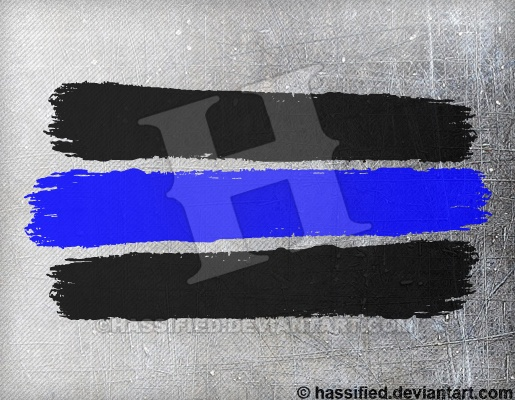 Law Enforcement Stripes - printable, vector, svg, art