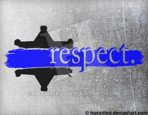 Law Enforcement Respect - printable, vector, svg, art