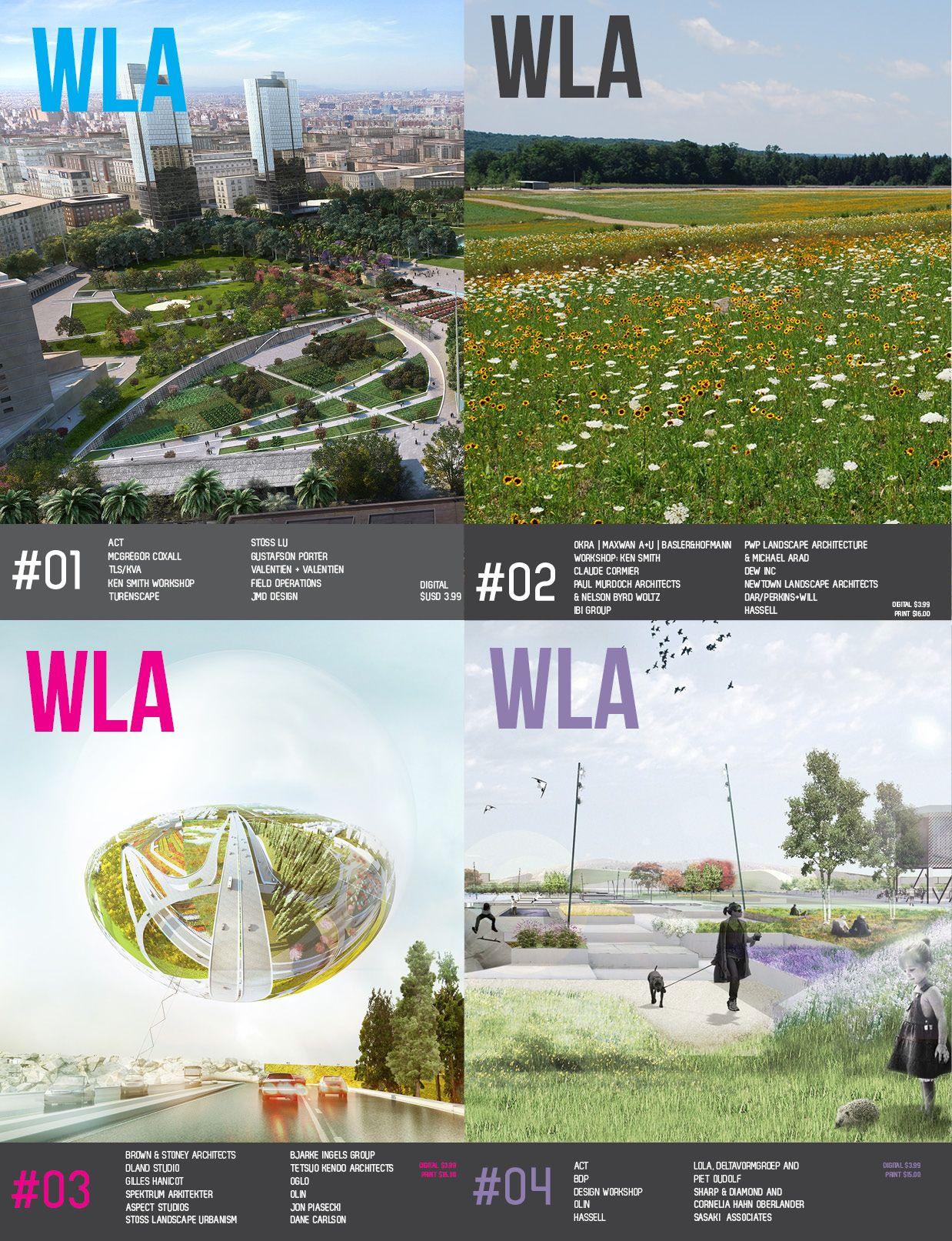 WLA Magazine VOLUME 1 | Editions 1 to 4 (1,2,3,4)