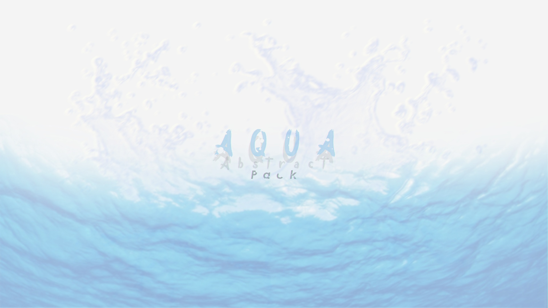 Aqua Abstract Pack