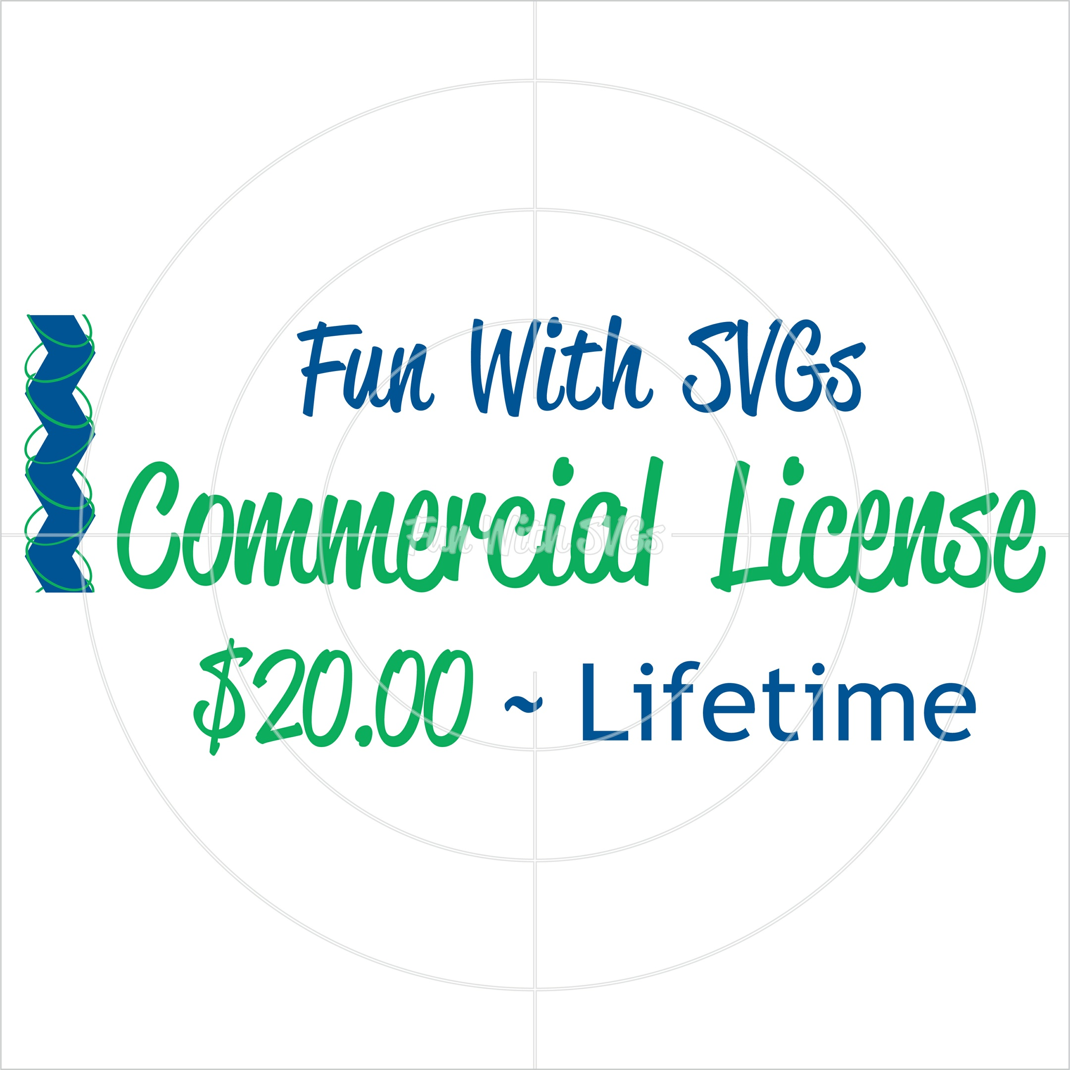 Lifetime Commercial License - Fun With SVGs