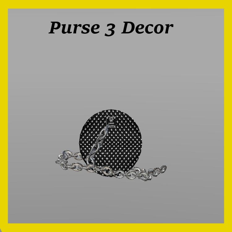 Purse 3 Decor