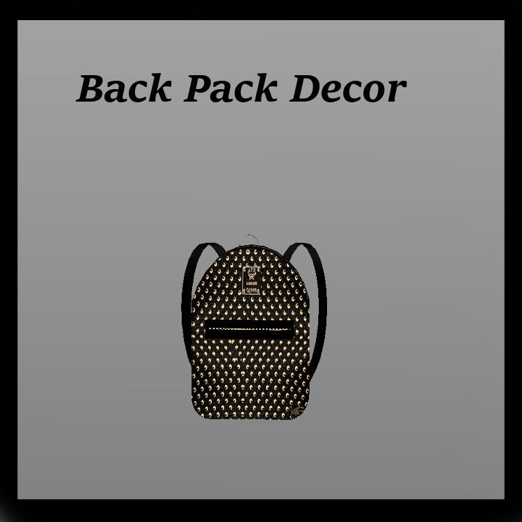 Back Pack Decor