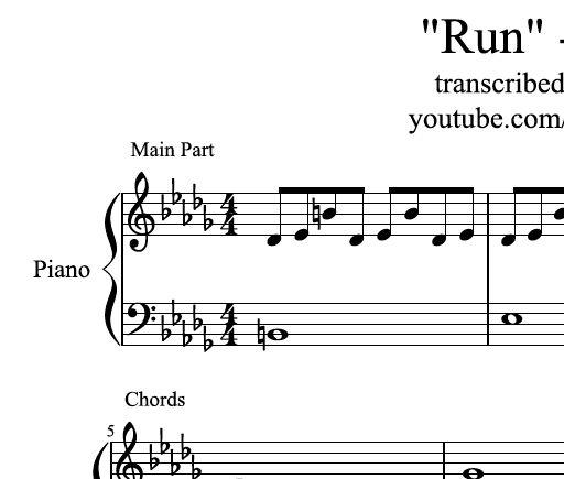 Silent Night Piano Sheet Music Bryanlewismusic Sellfy