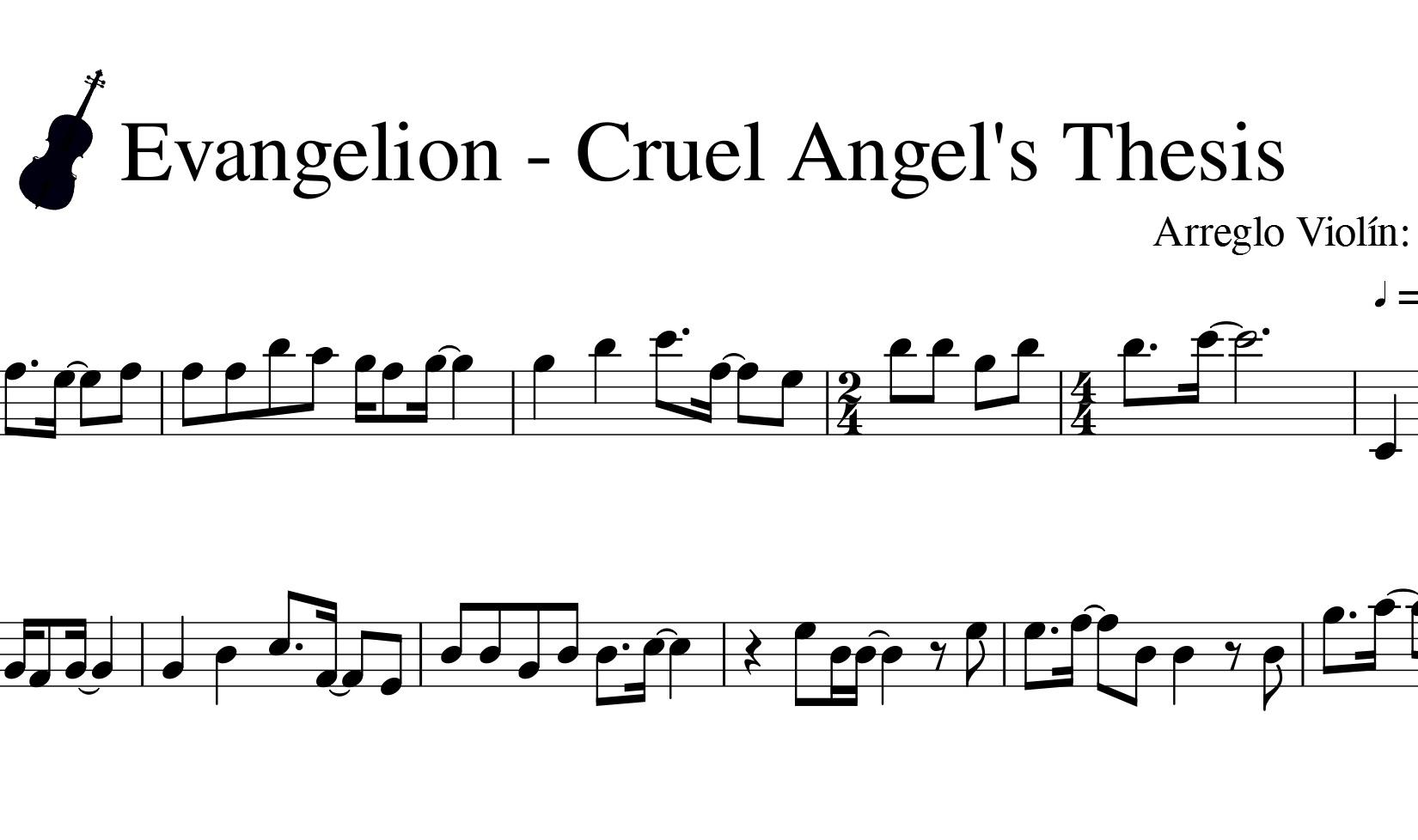 Evangelion - Cruel Angel's Thesis - Neon Genesis