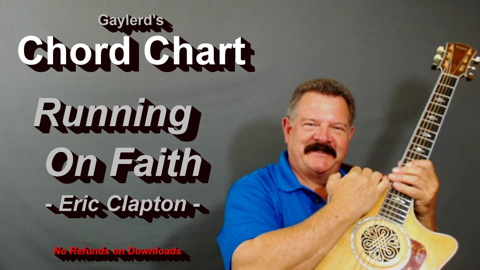 Running on Faith - Chord Chart