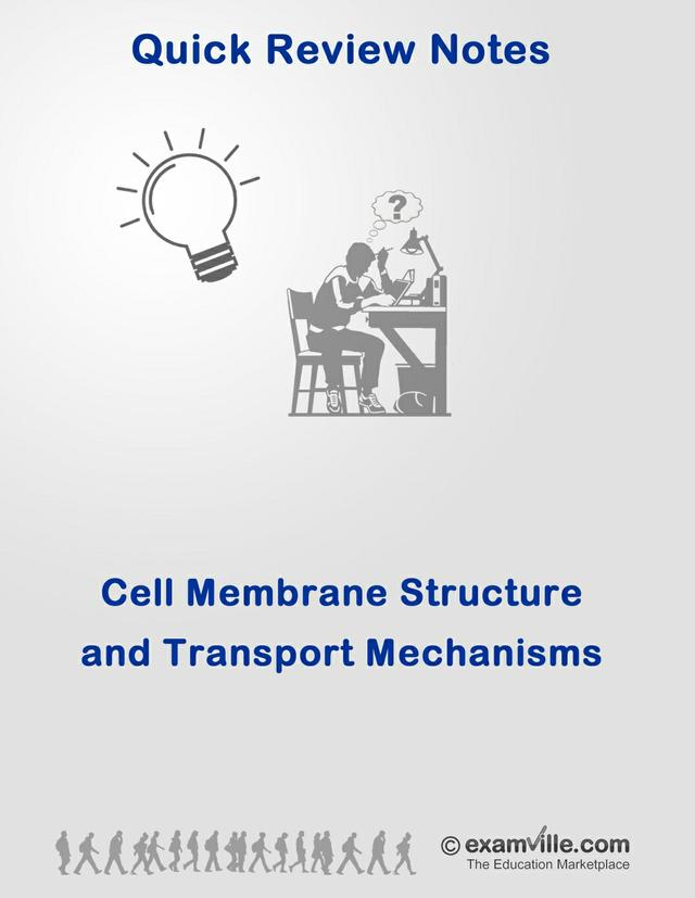 Biology Review: Cell Membrane and Cell Transport