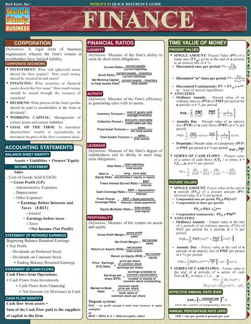 accounting cheat sheet quick view of basic accounting