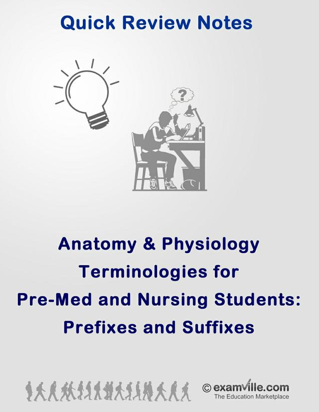 Anatomy and Physiology - Suffixes and Prefixes
