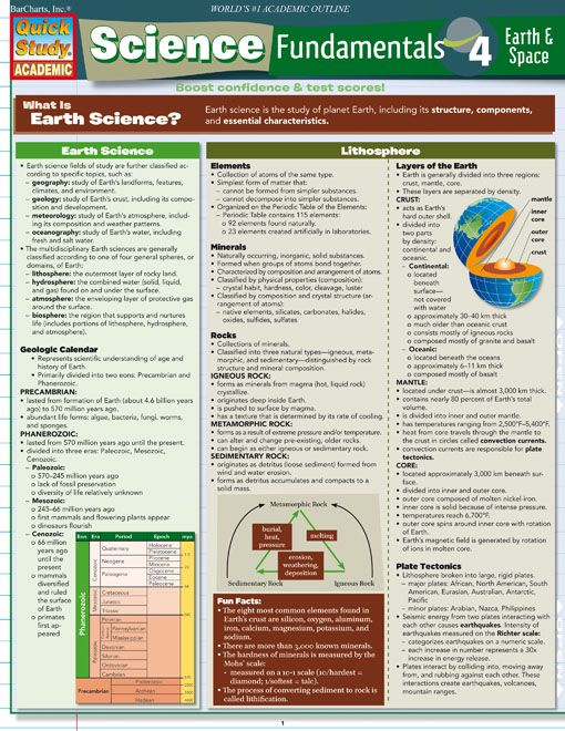 Free Earth Science Flashcards - StudyStack