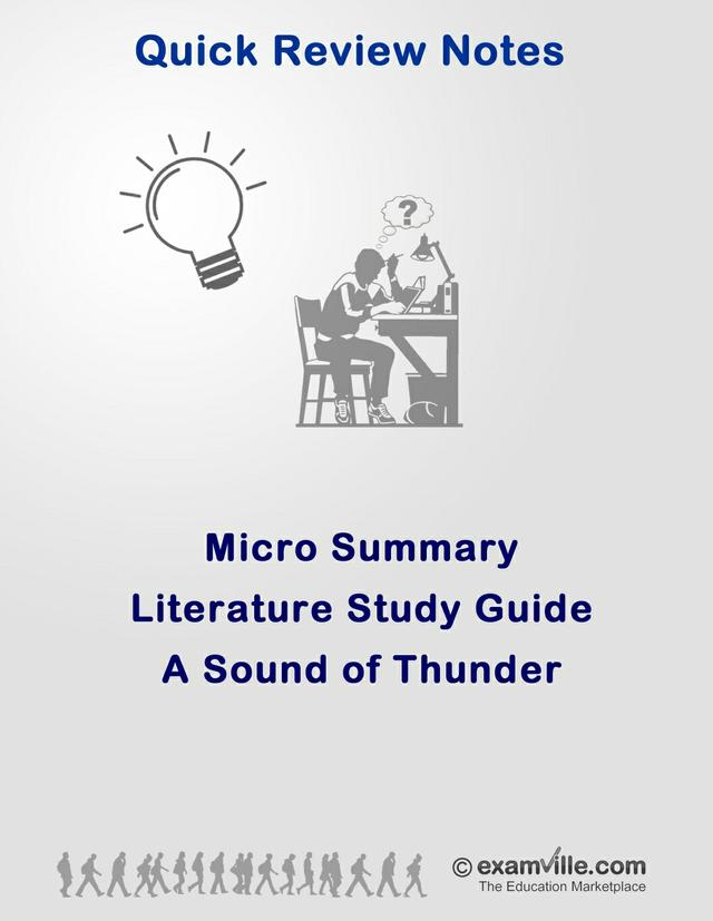 Literature Micro Summary - A Sound of Thunder