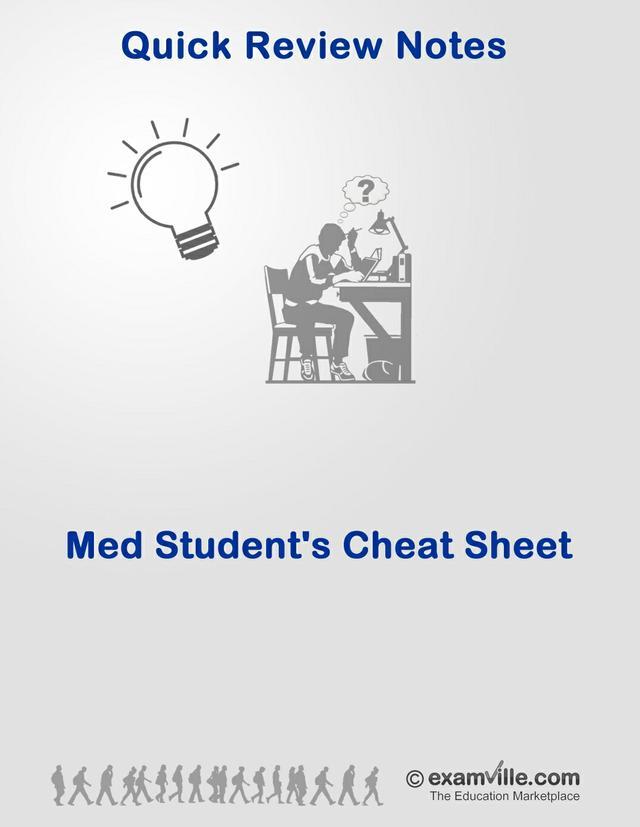 Medical and Nursing Students Cheat Sheet