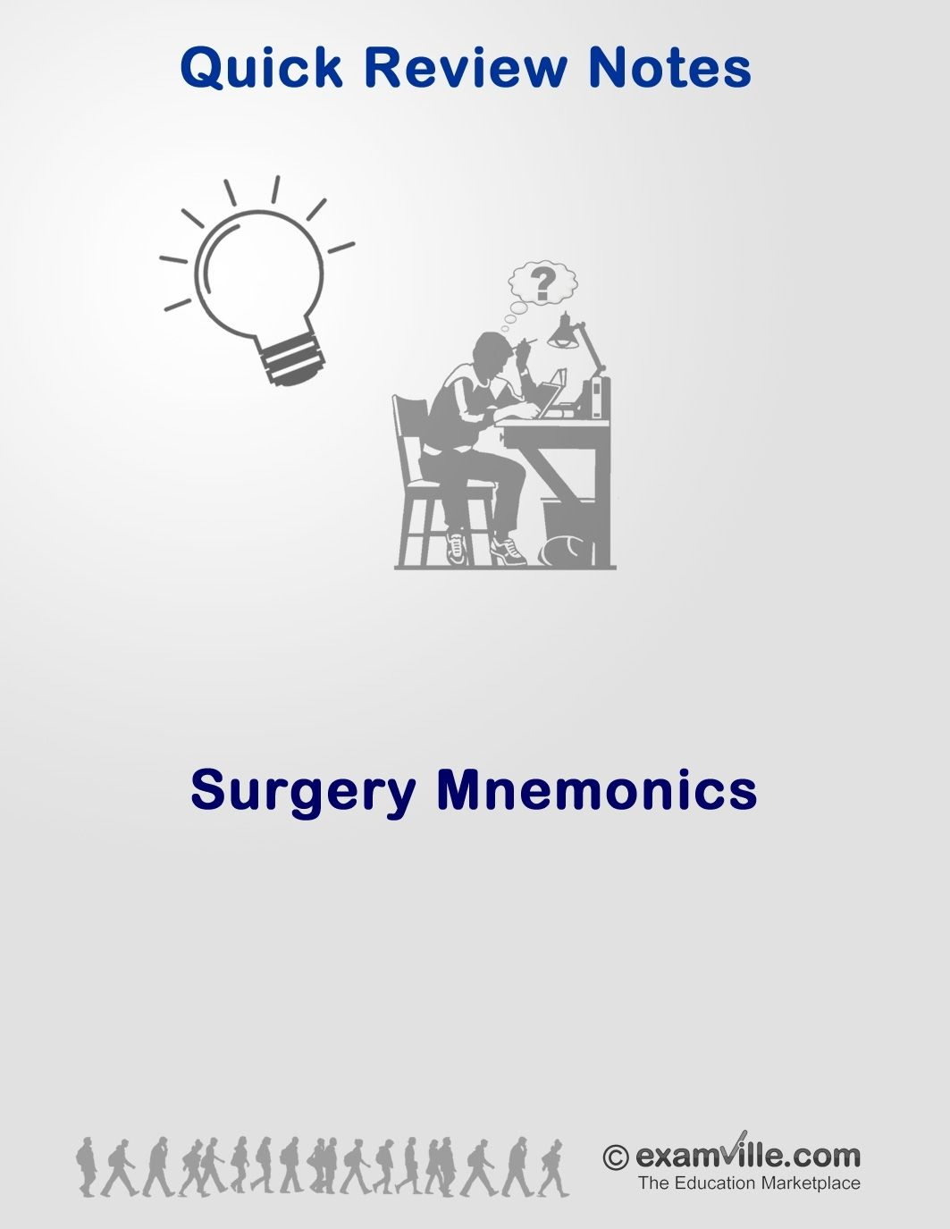 Surgery Mnemonics Cheat Sheet