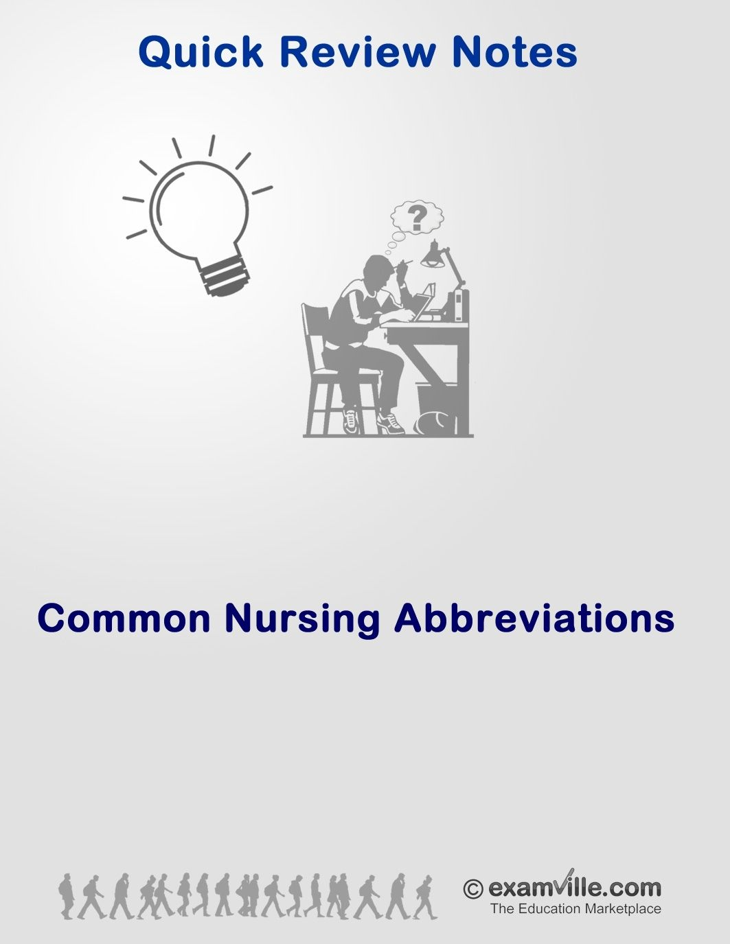 Common Nursing Abbreviations