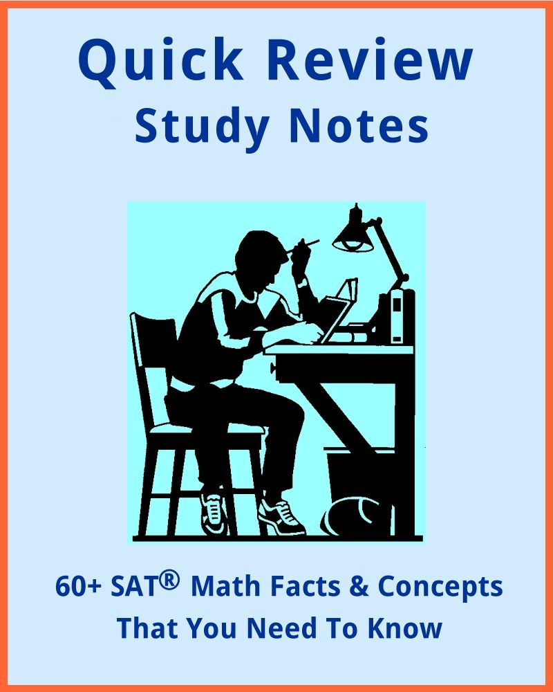 60+ SAT MATH Formulas and Concepts For Everyone