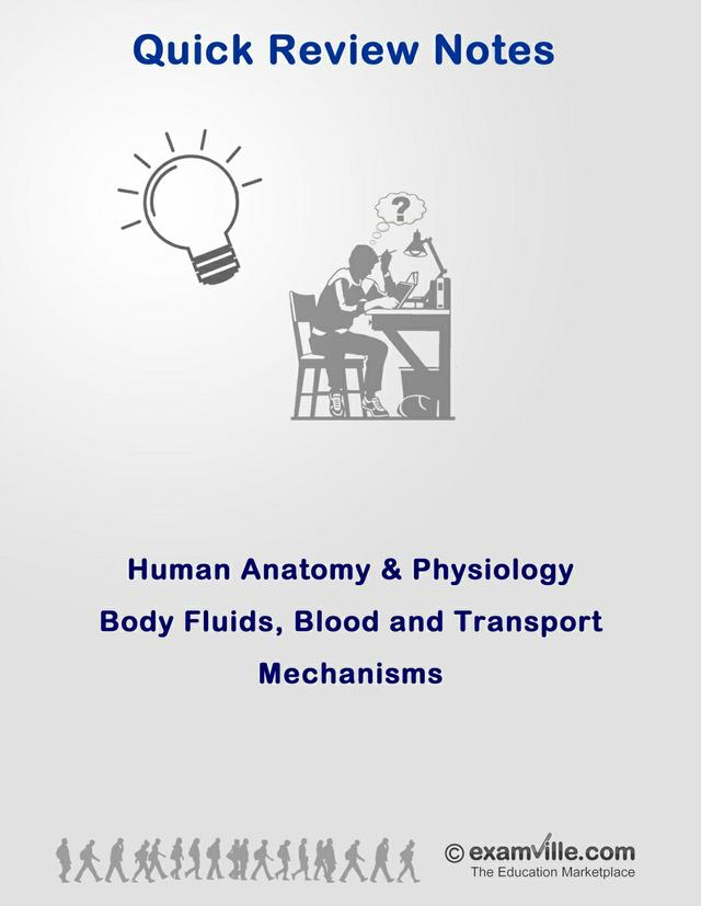 Nursing Review - Body Fluids, Blood and Transport Mechanisms