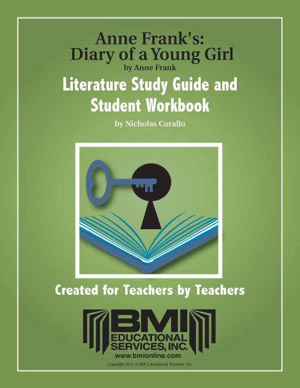 Anne Frank's The Diary of a Young Girl: Study Guide and Student Workbook