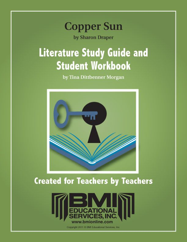 Copper Sun: Study Guide and Student Workbook