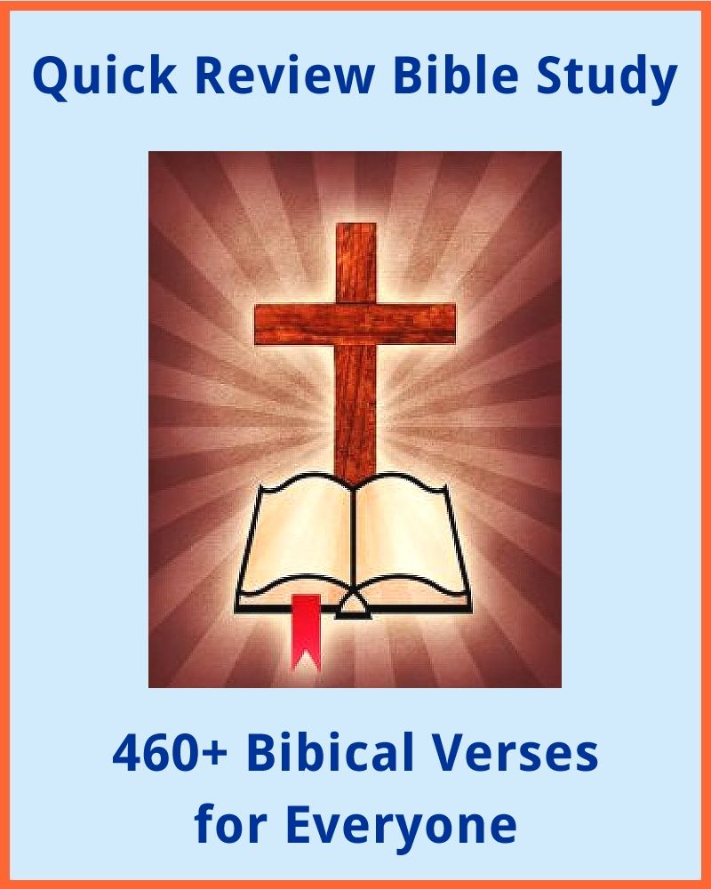 Quick Review Bible Study: 460+ Verses For Everyone