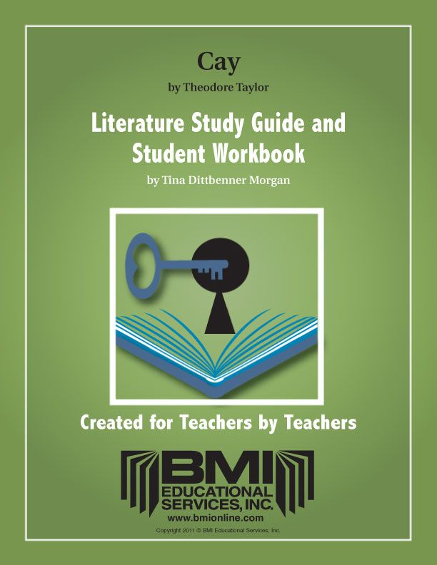 The Cay: Study Guide and Student Workbook