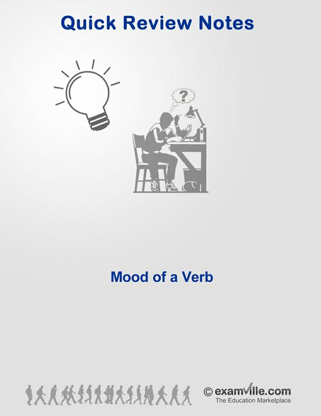 English Grammar Review - Mood of a Verb