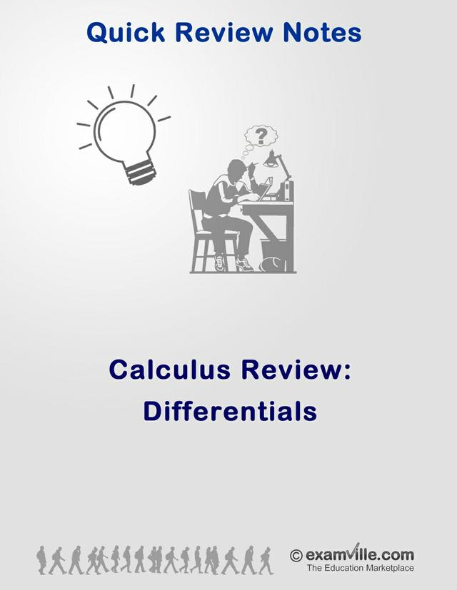 Calculus Review - Differentials