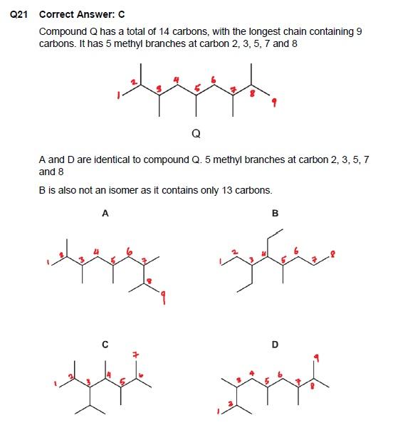 CIE 9701 Chemistry Paper 1 Solutions November 2016 (FREE SAMPLE)