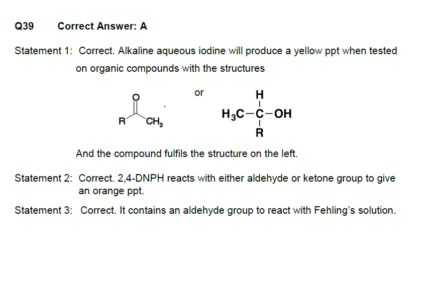 16 PDF files of solutions on past year MCQs from CIE Chemistry (9701).