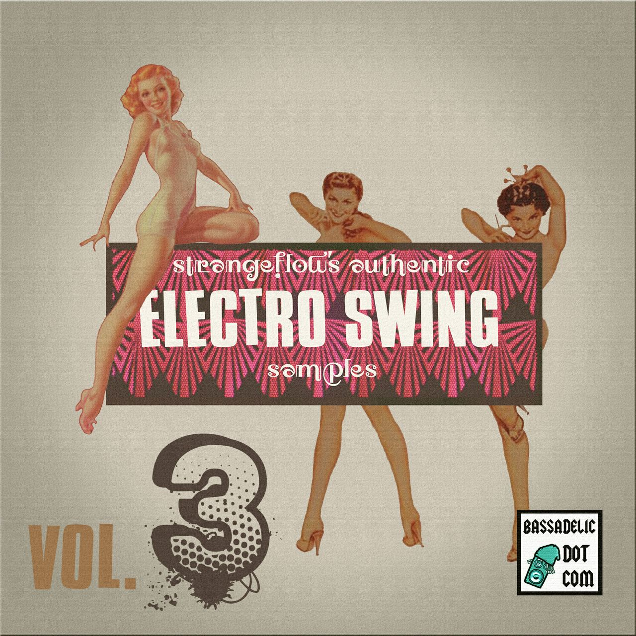 StrangeFlow's Authentic Electro Swing Samples VOL. 3