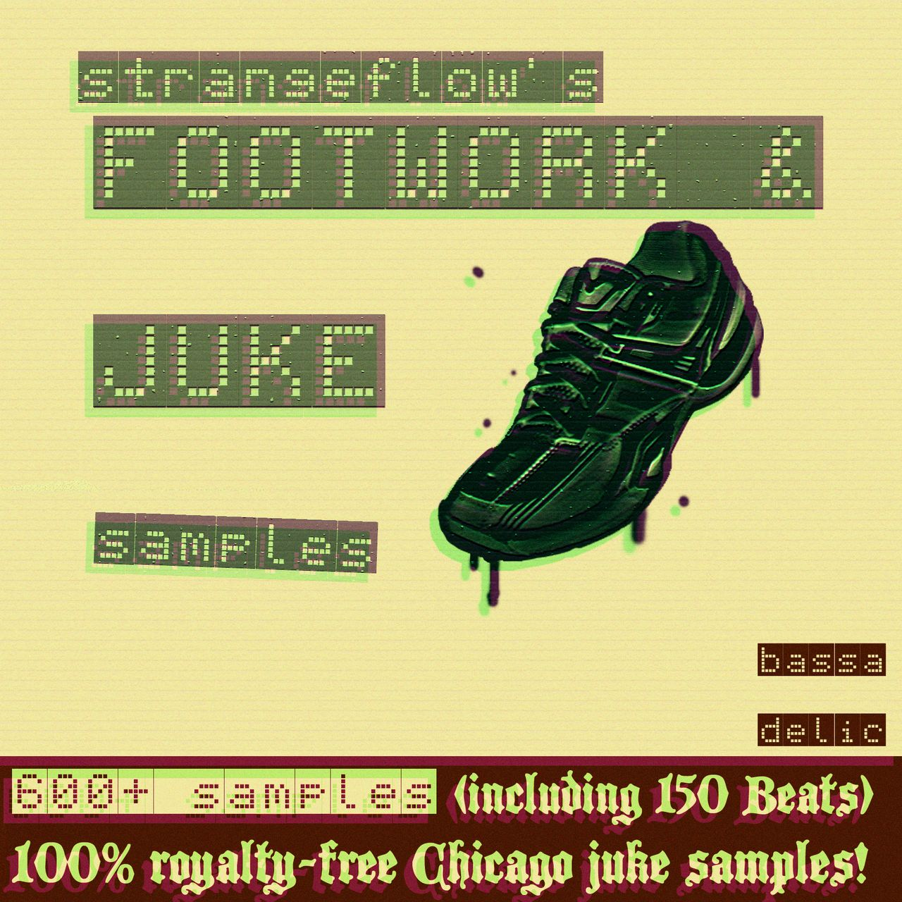 StrangeFlow's Footwork & Juke Samples