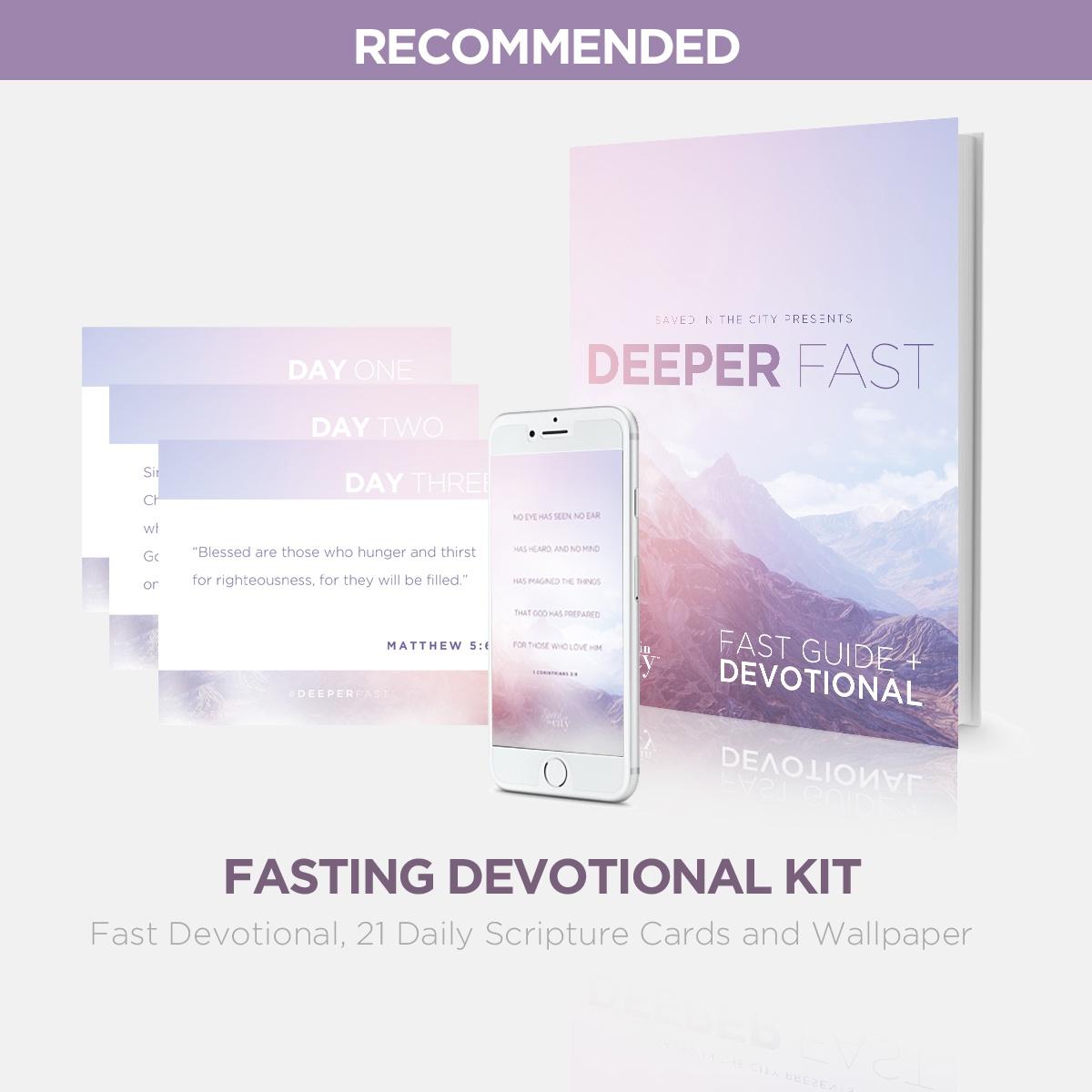 2018 Deeper Fast Devotional Kit