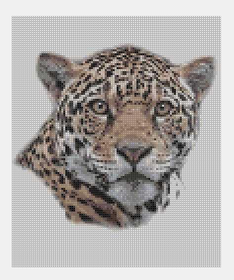 Cross Stitch PDF Animal