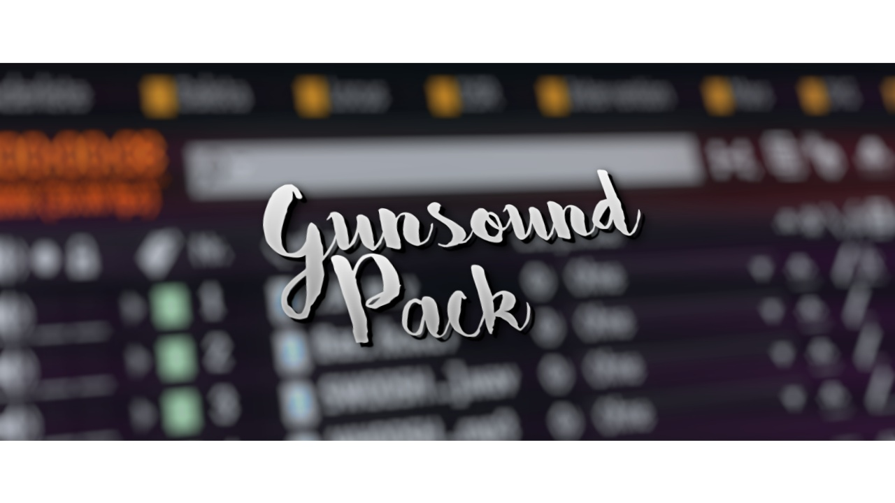 Personal Gunsound Pack