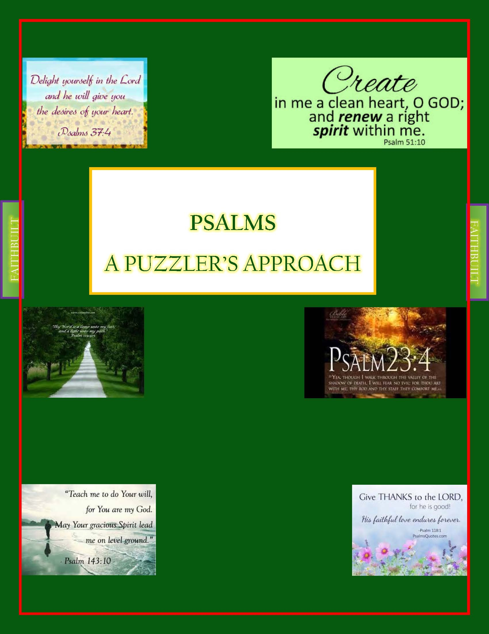 PSALMS: A PUZZLER'S APPROACH