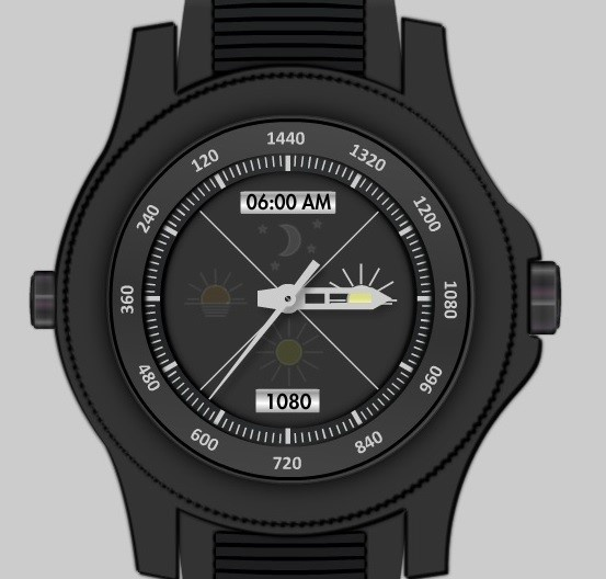 1440TIME™ WATCH Digital Download