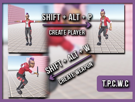 TPCWC - Third Person Controller with Companion v0.1