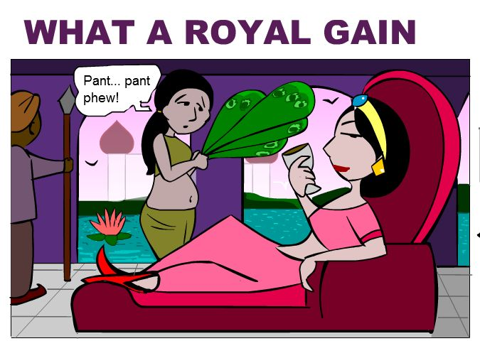 Royal Gain Comic