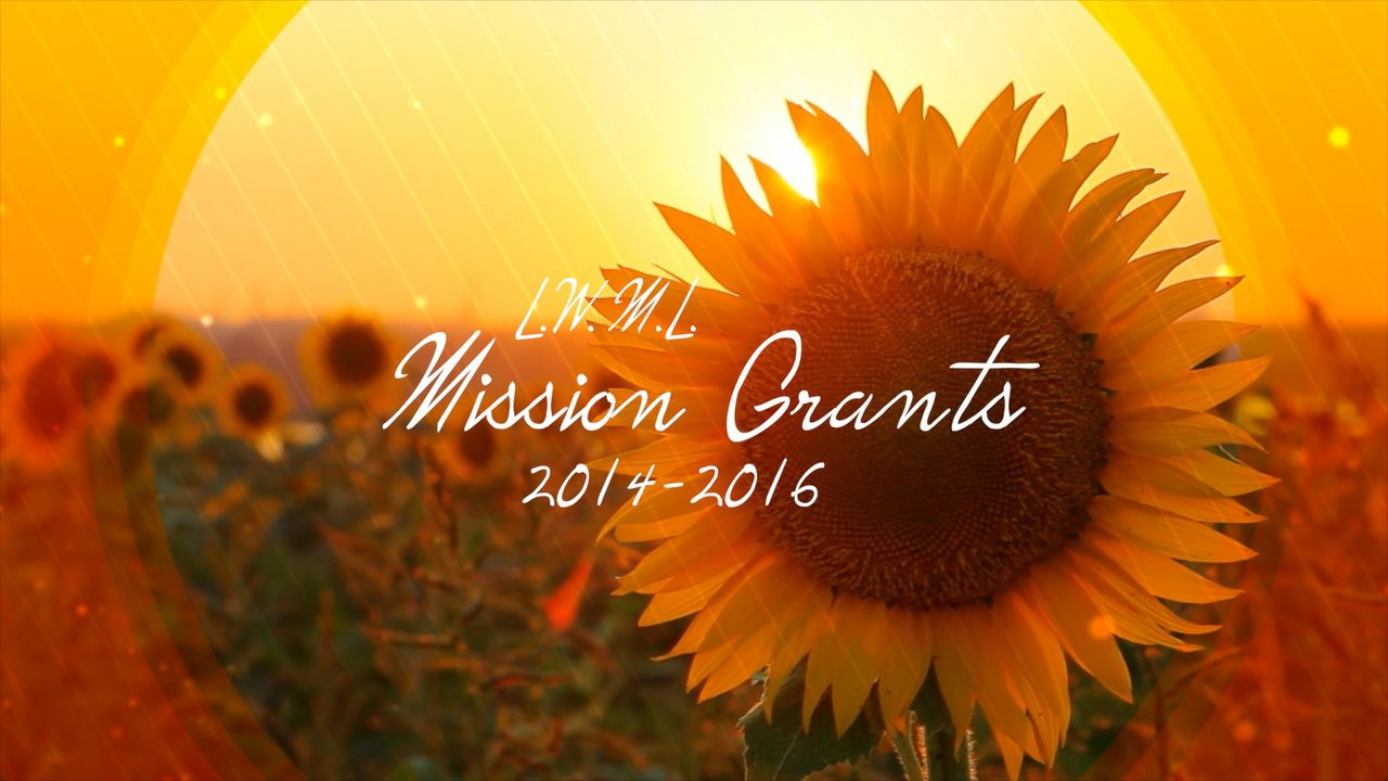 2014 LWML Mission Grants (LWML Texas District)
