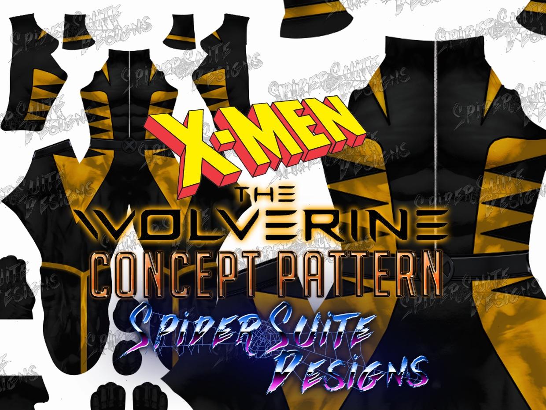 Movie Style Wolverine Concept Pattern 2017