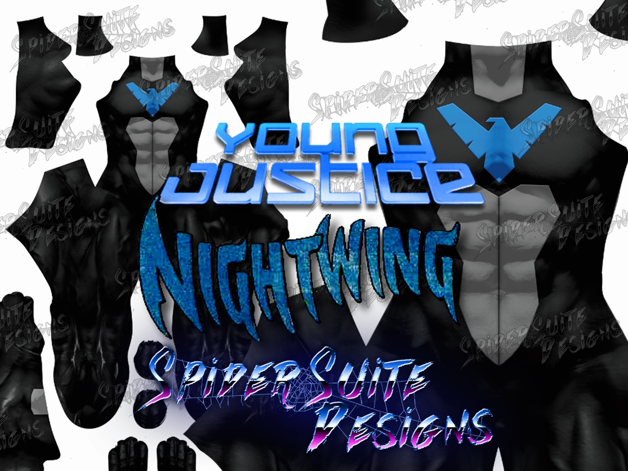 Nightwing Young Justice 2017 Pattern
