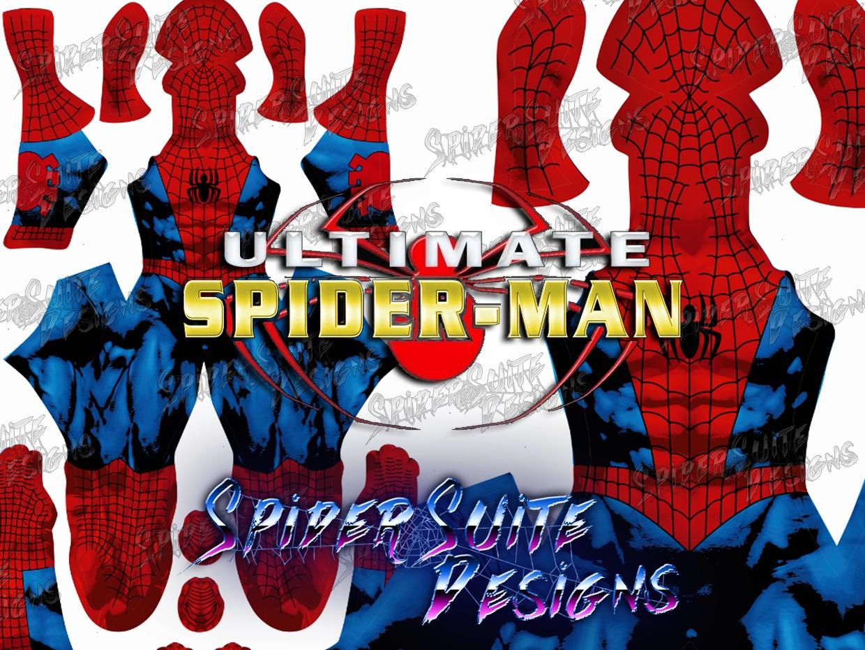 Ultimate Spiderman 2017 Pattern