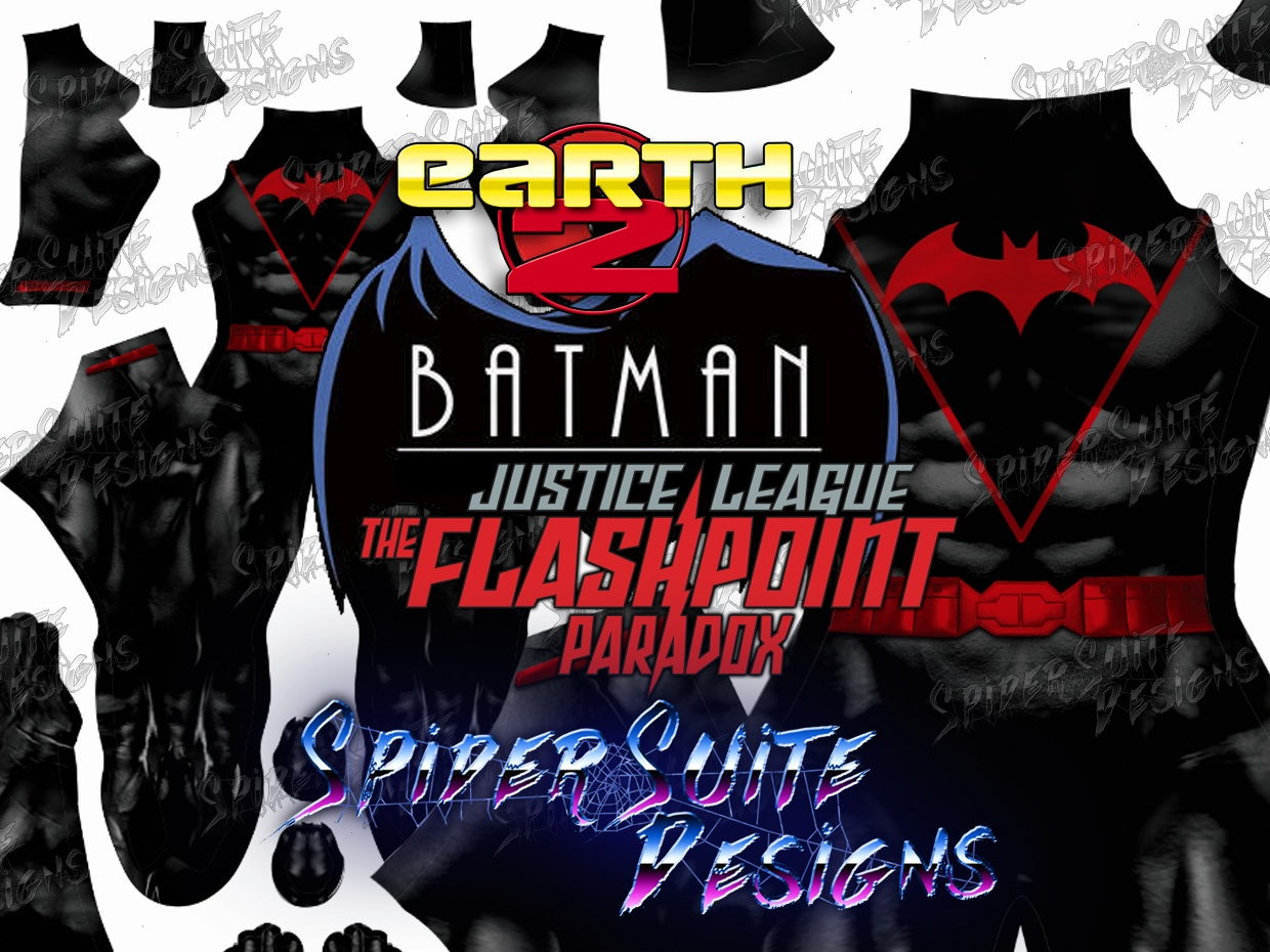 Flashpoint Earth 2 Batman 2017 Pattern