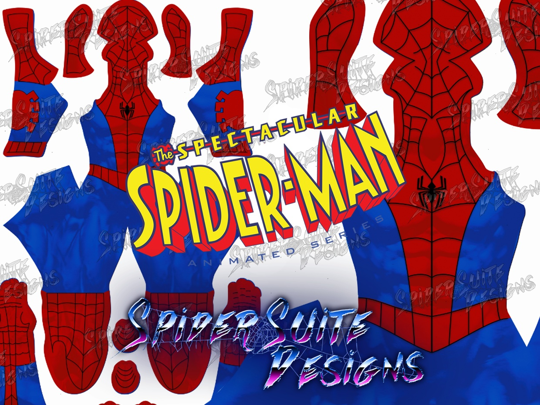 Spectacular Spiderman Disney XD 2017 Pattern
