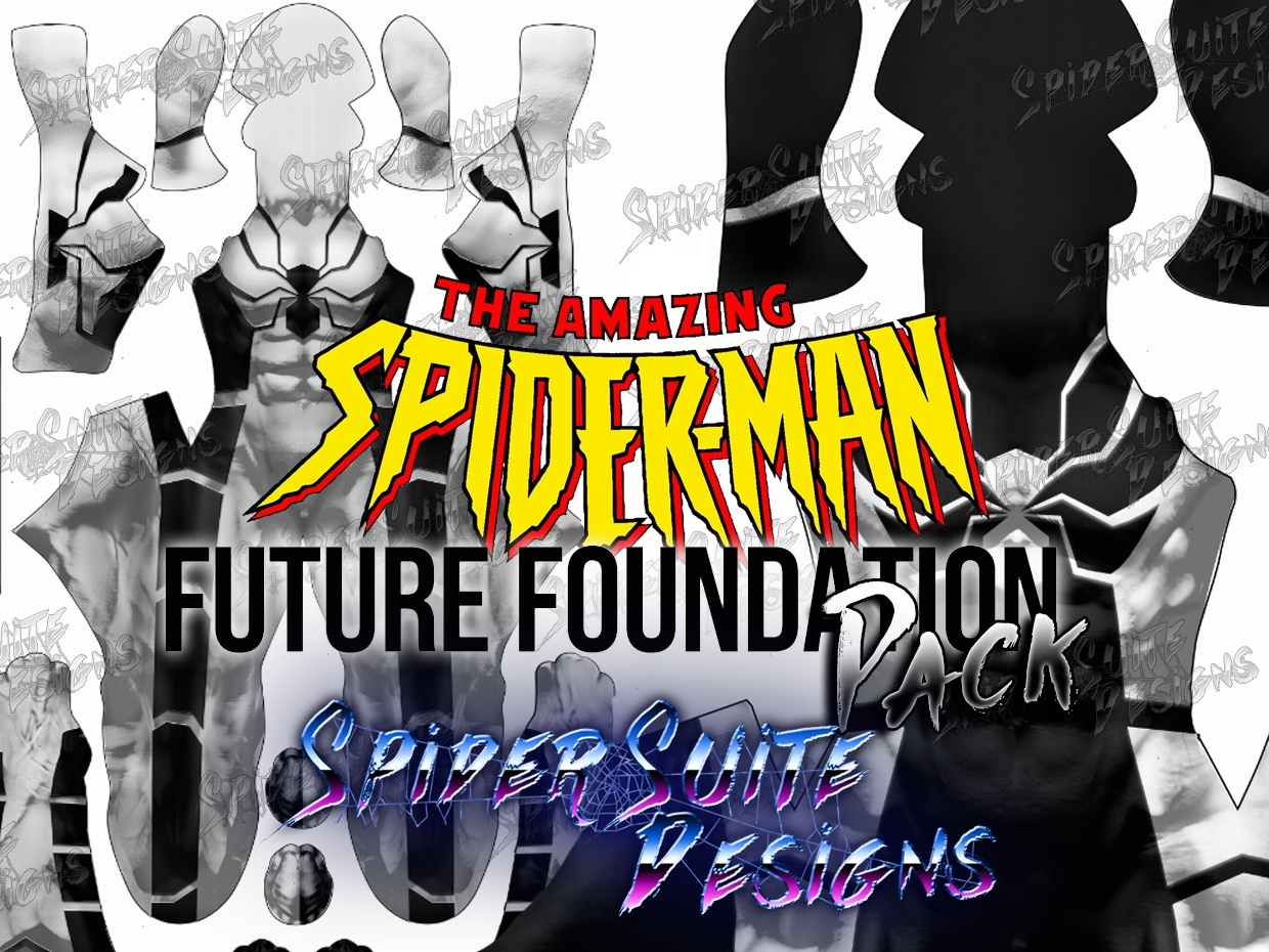 Future Foundation Spiderman Pack 2017 Patterns