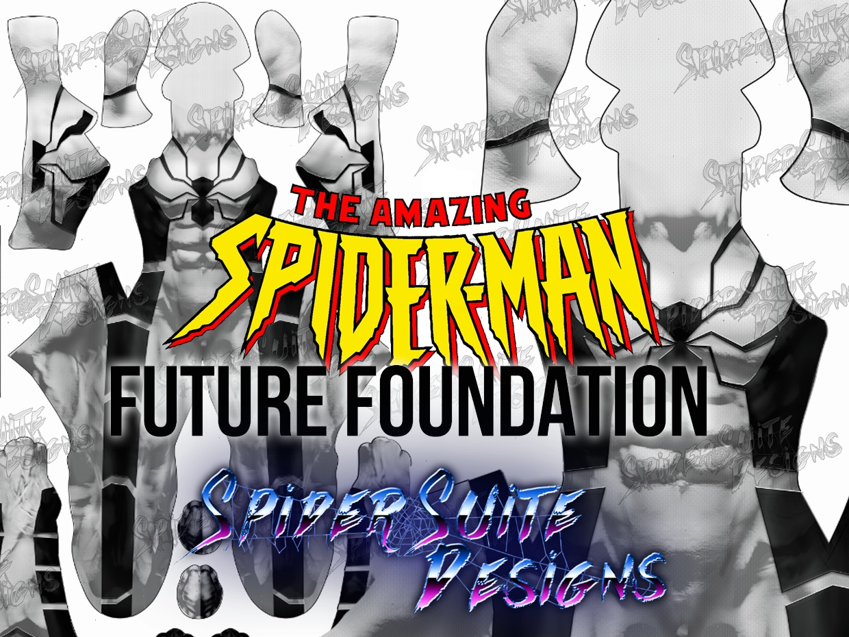 Future Foundation Spiderman 2017 Pattern